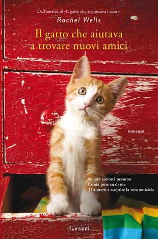 copertina Il gatto che aiutava a trovare nuovi amici