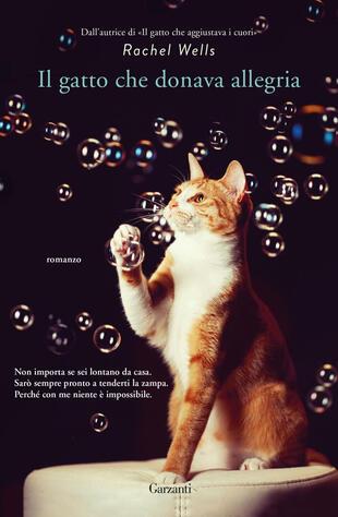 copertina Il gatto che donava l'allegria