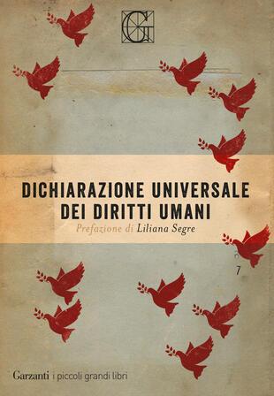 copertina Dichiarazione universale dei diritti umani