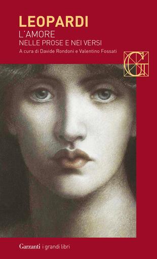 copertina L'amore nelle prose e nei versi