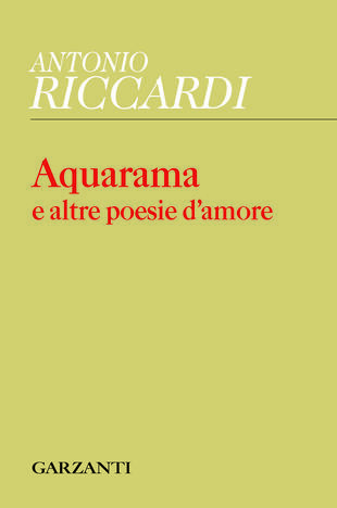 copertina Acquarama e altre poesie d'amore