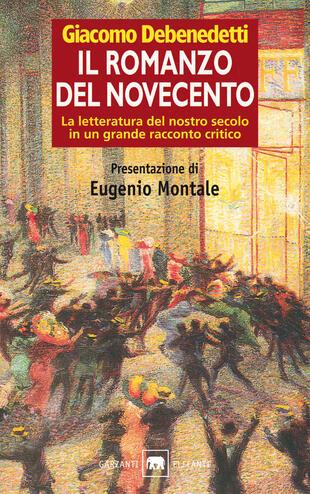 copertina Il romanzo del Novecento