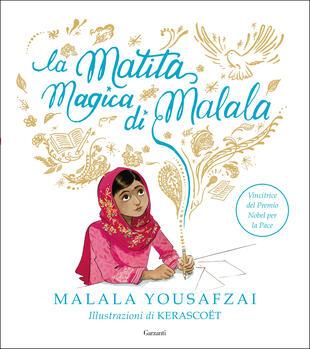 copertina La matita magica di Malala