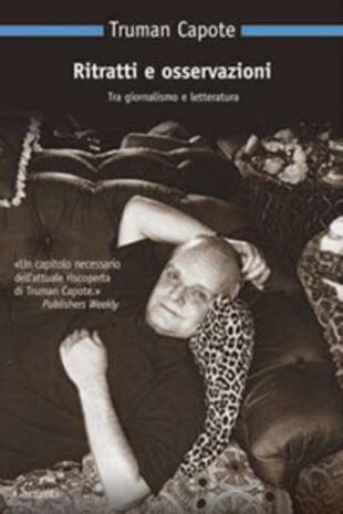 copertina Ritratti e osservazioni