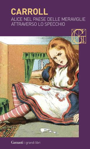 copertina Alice nel Paese delle Meraviglie – Attraverso lo specchio