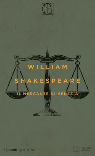 copertina Il mercante di Venezia