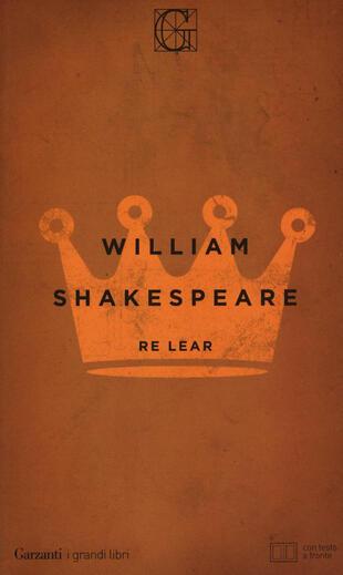 copertina Re Lear