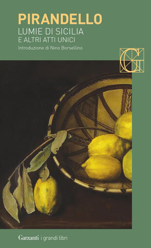 copertina Lumie di Sicilia e altri atti unici