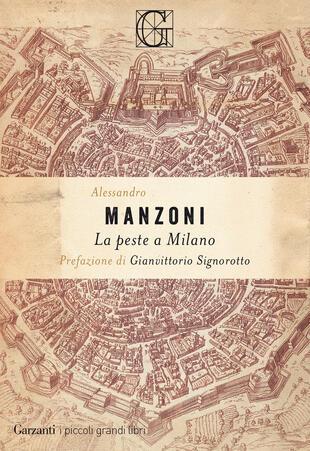 copertina La peste a Milano
