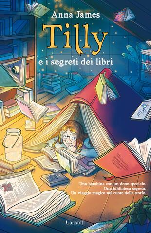 copertina Tilly e i segreti dei libri