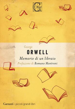 copertina Memorie di un libraio