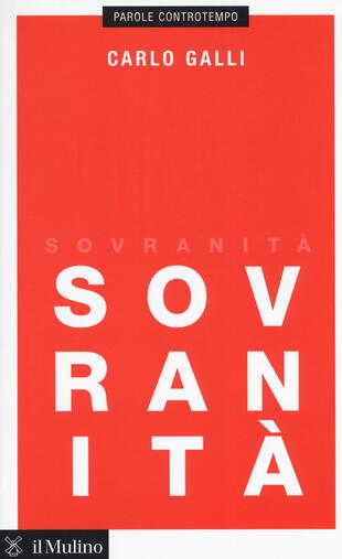 copertina Sovranità