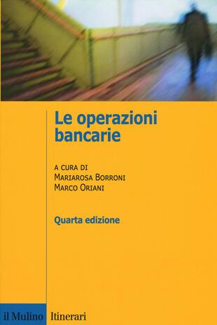 copertina Le operazioni bancarie