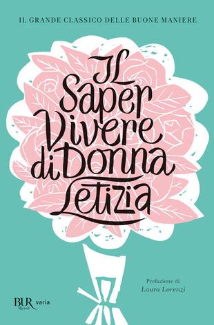 copertina Il saper vivere di Donna Letizia