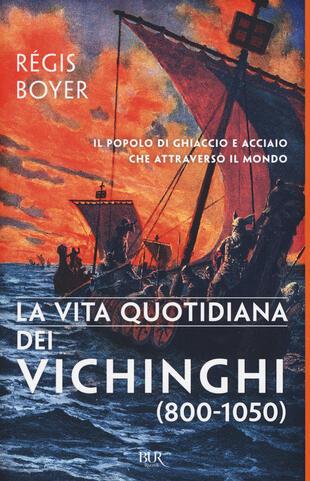 copertina La vita quotidiana dei vichinghi (800-1050)