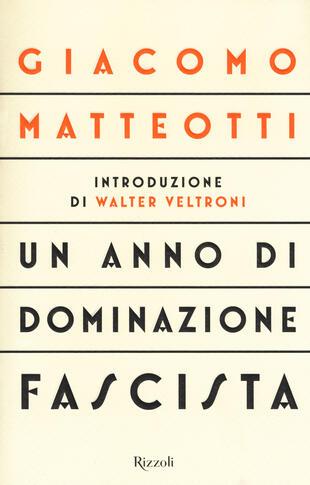 copertina Un anno di dominazione fascista