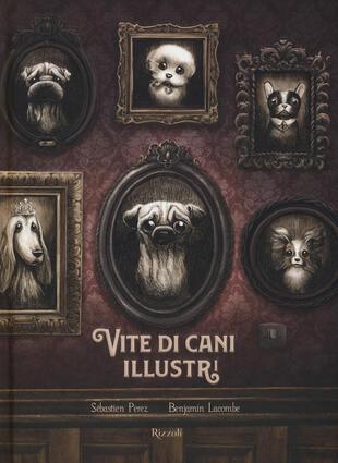 copertina Vite di cani illustri