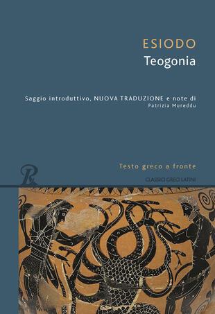copertina Teogonia. Testo greco a fronte