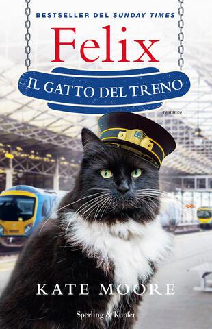 copertina Felix il gatto del treno