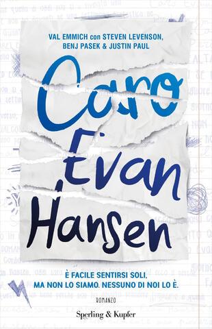 copertina Caro Evan Hansen