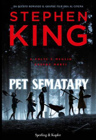 copertina Pet Sematary. Ediz. tie-in