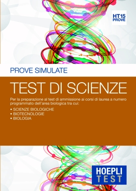 Hoepli Test. Prove simulate. Test di scienze
