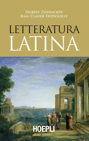 copertina Letteratura latina