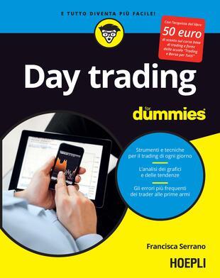 copertina Day trading for dummies. Ediz. italiana