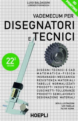 copertina Vademecum per disegnatori e tecnici