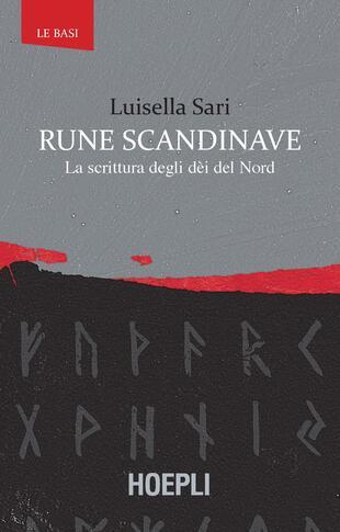 copertina Rune scandinave. La scrittura degli dèi del Nord