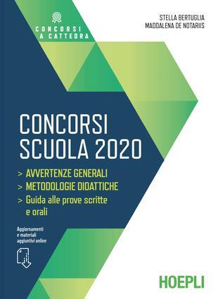 copertina Concorsi scuola 2020