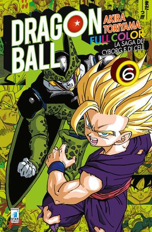 copertina La saga dei cyborg e di Cell. Dragon Ball full color. Vol. 6