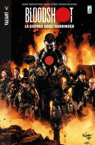 copertina Bloodshot. Vol. 3: La guerra degli Harbinger