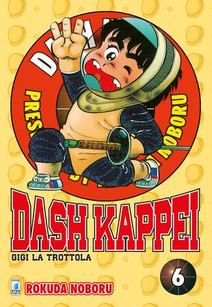 copertina Dash Kappei. Gigi la trottola. Vol. 6