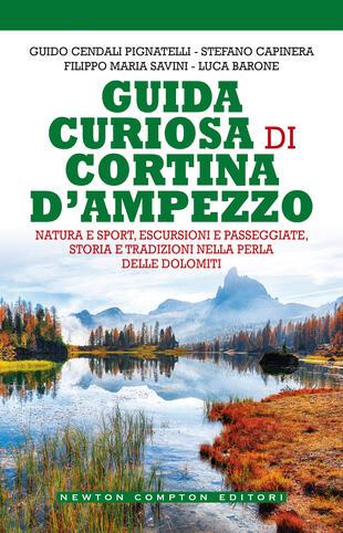 copertina Guida curiosa di Cortina d'Ampezzo