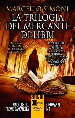 copertina La trilogia del mercante di libri. EDIZIONE ILLUSTRATA