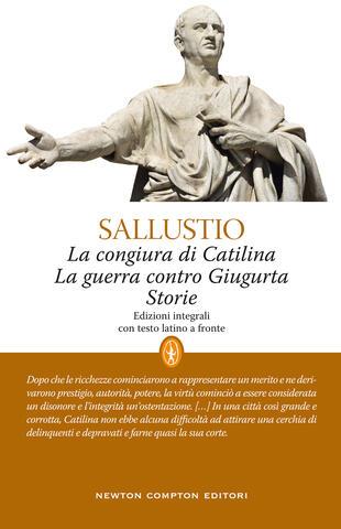 copertina La congiura di Catilina-La guerra contro Giugurta-Storie