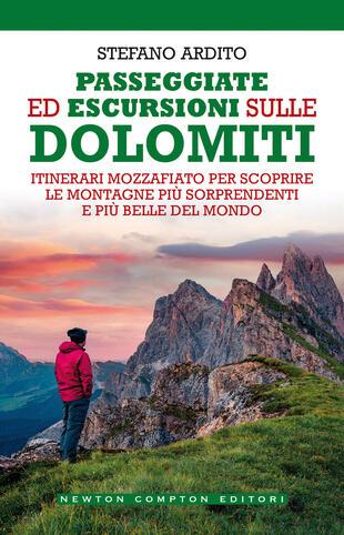 copertina Passeggiate ed escursioni sulle Dolomiti