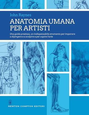 copertina Anatomia umana per artisti