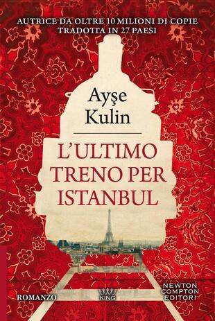 copertina L'ultimo treno per Istanbul