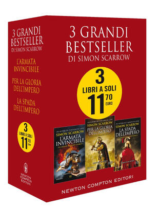 copertina 3 grandi bestseller di Simon Scarrow