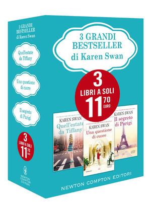 copertina 3 grandi bestseller di Karen Swan