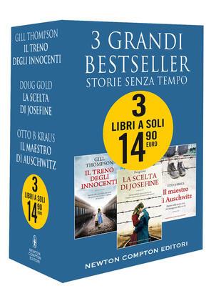 copertina 3 grandi bestseller Storie senza tempo
