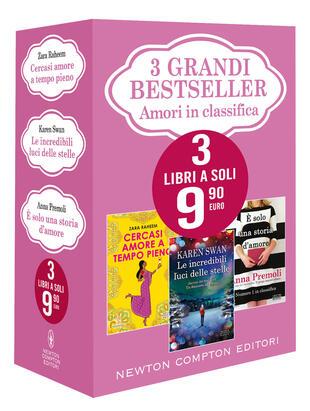 copertina 3 grandi bestseller Amori in classifica
