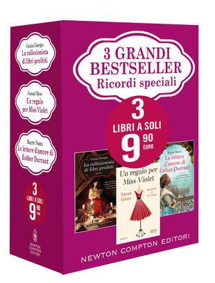 copertina 3 grandi bestseller Ricordi speciali
