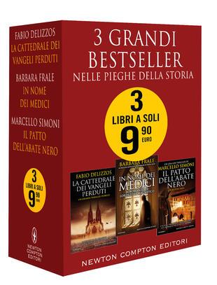 copertina 3 grandi bestseller Nelle pieghe della storia