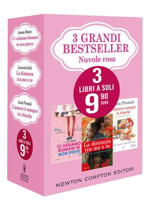 copertina 3 grandi bestseller Nuvole rosa