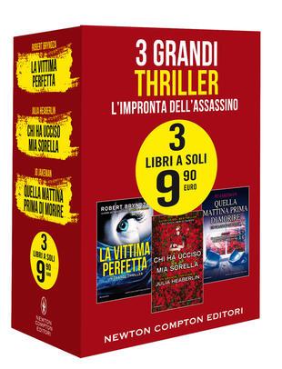 copertina 3 grandi thriller L'impronta dell'assassino