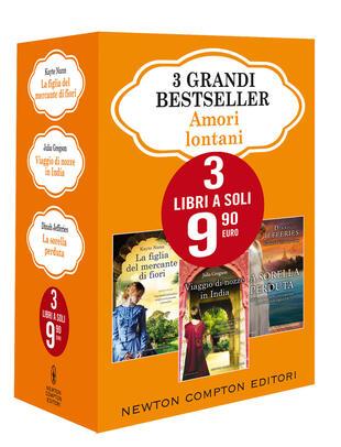 copertina 3 grandi bestseller Amori lontani