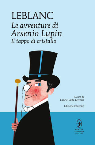 copertina Le avventure di Arsenio Lupin. Il tappo di cristallo